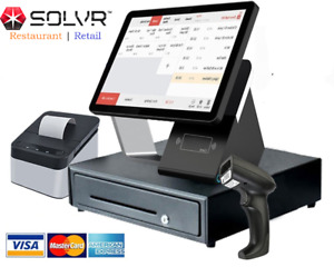 Cash Register Pos No Monthly Fee With Free Software And Fully Equiped