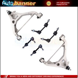 Front Rear Sway Bar Lower Control Arm Suspension Kit For 03 05 Ford Expedition