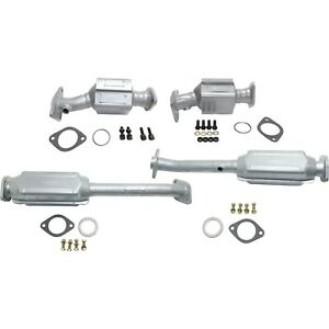 Catalytic Converter For 2005 2009 Nissan Frontier Front And Rear Set Of 4