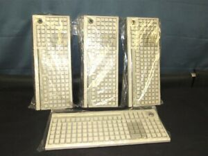 Lot Of 4 New Ibm Fru 41j8021 Pos Retail Keyboard Surepos M11 Pn 41j8019