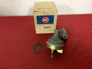 Nos 1966 Chevrolet Chevelle 396 Ac Fuel Pump 40193 Gm 6417547 Ss 66
