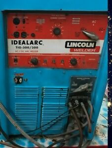 lincoln Idealarc Ac dc Arc Tig Welder 300 300