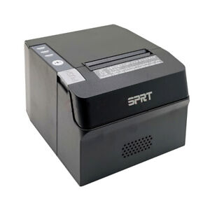 Pos Thermal Receipt Printer Usb Ethernet Network Port With Power Supply 80mm