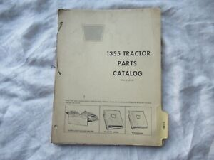 White Oliver Cockshutt 1355 Tractor Parts Catalog Book Manual