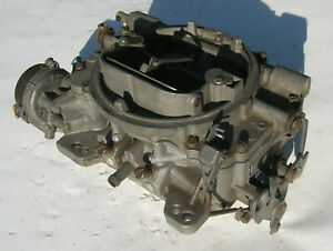 Carter Afb 9500sa 4 Barrel 500 Cfm Carburetor 2x4 Dual Quad 6 Cylinder
