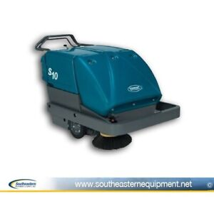 Reconditioned Tennant S10 Battery Walk Behind Sweeper