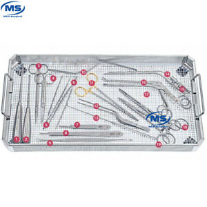 Aesculap Basicsets Of Spinel Neurosurgical Instruments Set