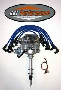 Chevy Inline 6 Straight 6 194 230 250 292 Hei Distributor Clear Blue Wires Usa