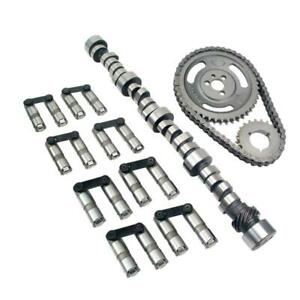 Comp Cams Sk12 433 8 Camshaft Kit Xtreme Energy Retro Fit Hyd Roller For Sbc