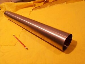 3 Od X 25 1 2 Oal 316 Stainless Steel Tube Stock Round Exhaust Pipe 065 Wall