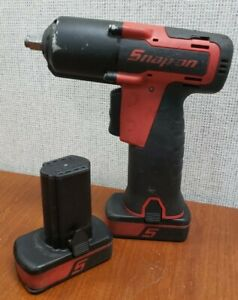 Snap on Tool Impact Driver 3 8 Ct761a 2 Batteries