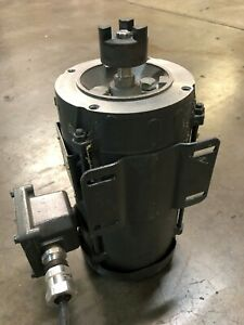Electric Motor Low Hours 0 75 Hp Np0016xp 1725 Rpm 60 Hz 115 V Plug