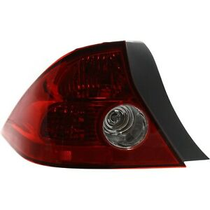 Tail Light For 2004 2005 Honda Civic Driver Side Coupe Assembly