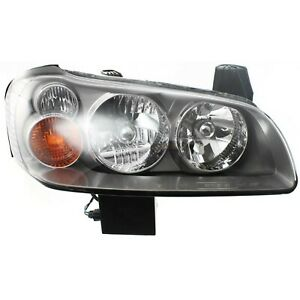 Headlight For 2002 2003 Nissan Maxima Right Clear Lens Hid With Bulb