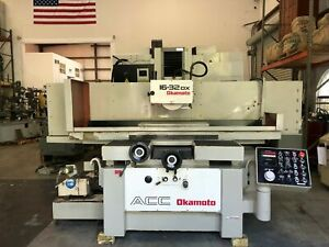 Okamoto Acc 16 32dx 16 X 32 Automatic Hydraulic Surface Grinder 1997 Gmt 2091