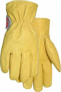 Thermalock Lined Top Grain Leather Work Gloves 660tk