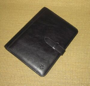 Classic Franklin Covey new Black Sim Leather 885 Rings Planner binder