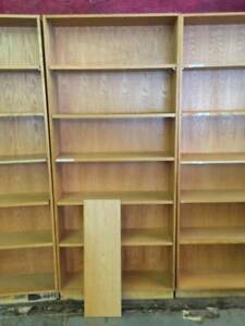Wood Bookshelves Great For Retail Bookstore Or Library Local Pickup