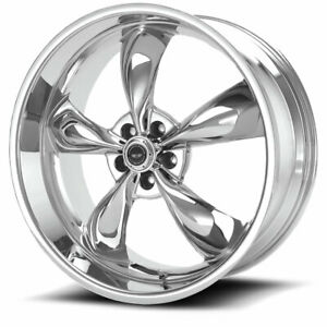 18 American Racing Torq Thrust M Ar605 18x10 5x4 75 45mm Chrome Classic Wheel