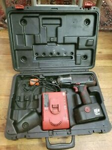 Snap on 18v 1 2 Cordless Impact Wrench Ct4850 W Battery Charger Case