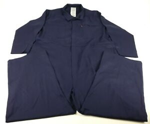Chicago Protective Apparel 605 frc n 5xl Fr Cotton Coverall 5x large Navy