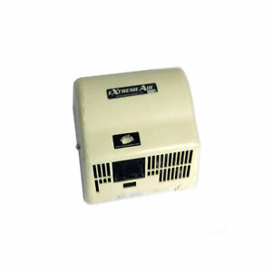 American Dryer Gxt6 Extreme Air White Steel Automatic Hand Dryer 120v 12 5a