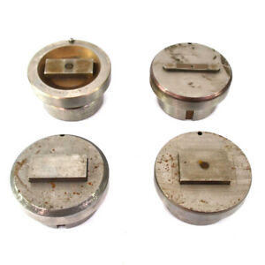 lot Of 4 Mate Punch Die Press Brake Tooling Attachment 89mm Diameter