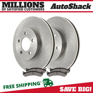 Front Rotors Ceramic Pads For 1997 2001 2002 Ford Expedition 1998 2002 Navigator