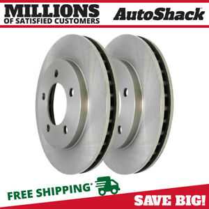Front Brake Rotor Pair For 1997 2002 Ford Expedition 1998 2002 Lincoln Navigator