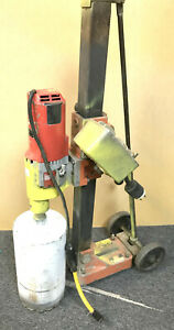 Core Drill Milwaukee 4004 Dymodrill With Bit And Stand local Pick Up