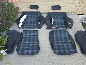 Recaro Volkswagen Scirocco 16 Valve Upholstery Seat Kit Set Beautiful Pre 90 New
