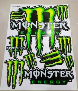 Big Size Rockstar Energy Stickers Bike Motocross Atv Racing Graphic