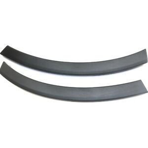 Bumper End Caps For 2016 Toyota Rav4 Set Of 2 Front Textured Right And Left