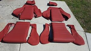 Recaro Volkswagen Scirocco 16 Valve Upholstery Seat Kit Set Beautiful 90 92