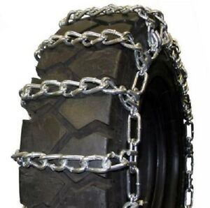 Quality Chain Forklift Twist 2 Link 7 50 16 Fork Lift Tire Chains