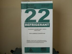 Best Deal R 22 Refrigerant New Sealed Box Of R22 30lb Cylinder Free Shipping