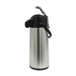 Holiday House Aps22s 2 2l Airpot Ss Finish Pump Lever Coffee Beverage Dispenser