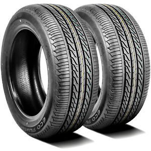 2 New Accelera Eco Plush 225 60r15 96v A s All Season Tires