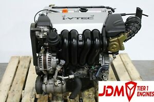 Acura Rsx Motor Base Model Only And Honda Civic Si Jdm K20a Engine 2 0l Vtec