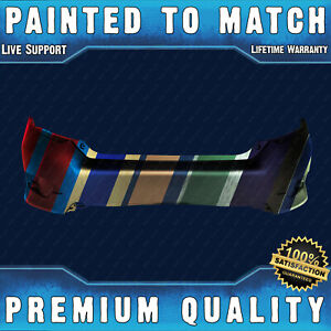 New Painted To Match Rear Bumper Cover Direct Fit For 2016 2020 Honda Civic 4dr