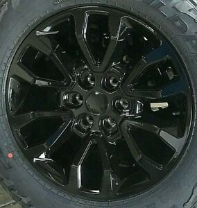 20 Ford Raptor Style Gloss Black Wheels Rims Set Fits For F 150 04 19