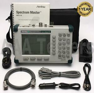 Anritsu Ms2711d Handheld Spectrum Master Analyzer Ms2711
