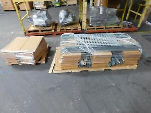 1 Lot Of Industrial Shelving T141532