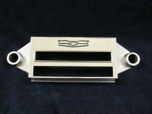 Vintage Chevrolet Radio Chrome Face Plate 1950 S Chevy Part Number 7270399