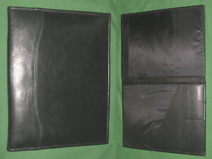 8 5x11 Note Pad Black Leather Day Runner Planner Binder Franklin Covey