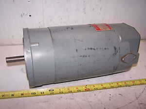 Ge 3 4 Hp Dc Electric Motor 90 Vdc 56 Frame 1725 Rpm 5bcd56rb89b