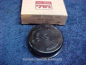 Nos 56 57 Ford Thunderbird Dual Quad Supercharge Choke Thermostat Housing