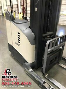 4 Refurbished 2010 Crown Rd5280s 30 Deep Reach Trucks 6 8k Hours 172 400 Mast