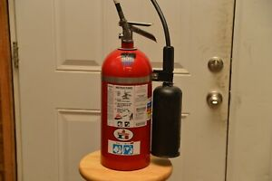 10 Lb Co2 Badger Fire Extinguisher Used In Very Good Condition Needs Hydro Test