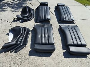 Bmw 325i 325is E30 Sport Seat Kit Oem German Vinyl Upholstery Beautiful New